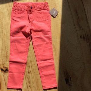 NWT sz 7 Tea Collection cotton skinny pants